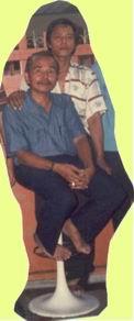 Alm Achmad Tirmidzie dan H. Mawardi Haldi