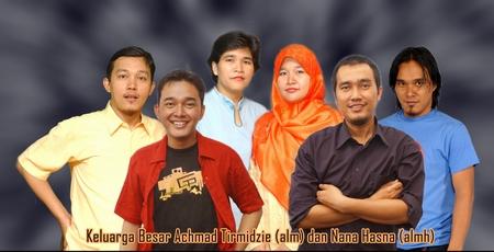 Anak-anaknye Achmad Tirmidzie neh.. Keluarga Depok..
